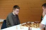 Marc Gustain erkämpfte ein Remis in der 2. Runde